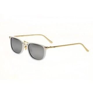 Simplify Foster Unisex Acetate Sunglasses - 100% UVA/UVB Prorection - Polarized/Mirrored Lens - Multi