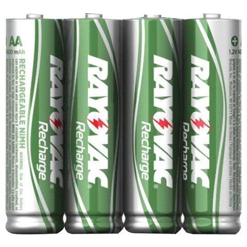 Rayovac Ld724-4Opb Ready-To-Use Rechargeable Nimh Batteries (Aaa; 600Mah; 4 Pk)
