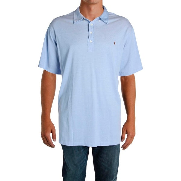 22c95f2b Shop Ralph Lauren Mens Big & Tall Polo Shirt Knit Stretch - 4xlt - Free  Shipping On Orders Over $45 - Overstock - 23142550