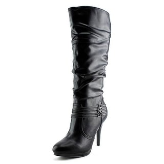 Style & Co Lindie Wide Calf Women Round Toe Synthetic Knee High Boot