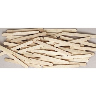 """Creativity Street - Wooden Craft Sticks - 6"""" - Jumbo Natural, 100/Pkg."""