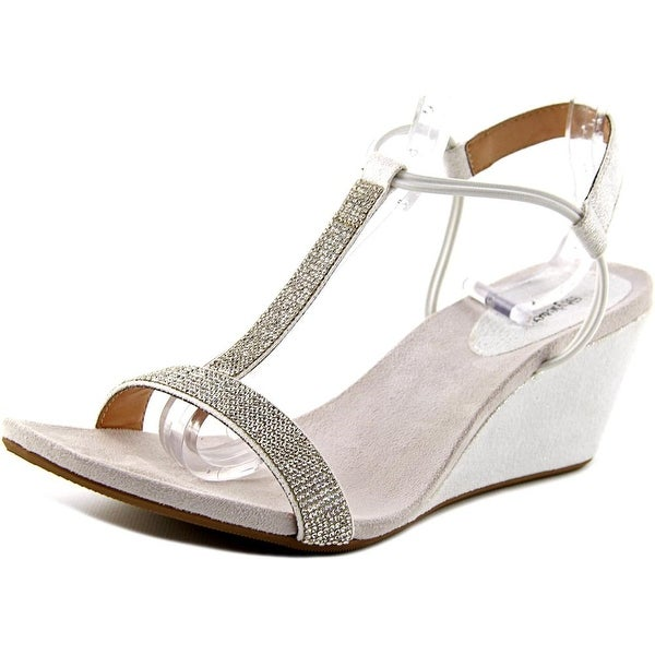 Style & Co Mulan 2 Women Open Toe Synthetic White Wedge Sandal