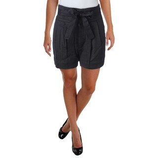 Marc by Marc Jacobs Womens Casual Shorts Linen Double Pleat