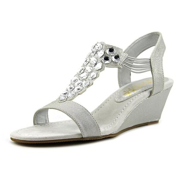 New York Transit Got Glass Women Open-Toe Synthetic Slingback Sandal