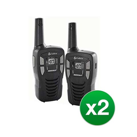 Cobra CX195 16 Mile Two Way Radio - (2-Pack) Two Way Radio