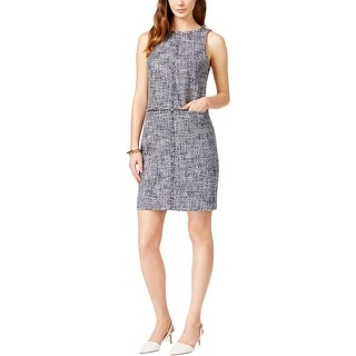 MICHAEL Michael Kors Womens Wear to Work Dress Tweed Sleeveless