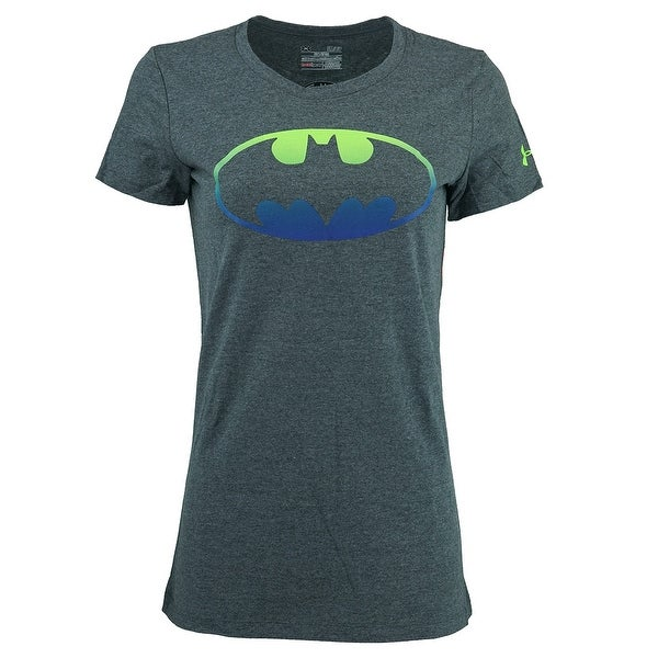 Shop Under Armour Women s Bat Woman S S T-Shirt - On Sale - Free Shipping  On Orders Over  45 - Overstock - 23595411 acd5ebe228