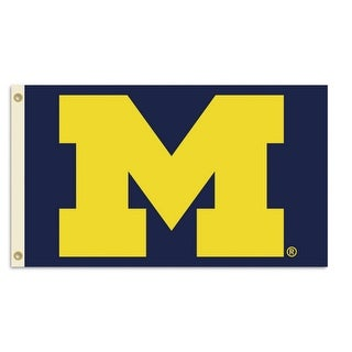 Bsi Products Inc Michigan Wolverines Flag with Grommets Flag with Grommets