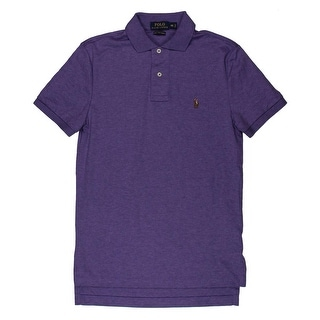 Polo Ralph Lauren Mens Polo Shirt Heathered Embroidered