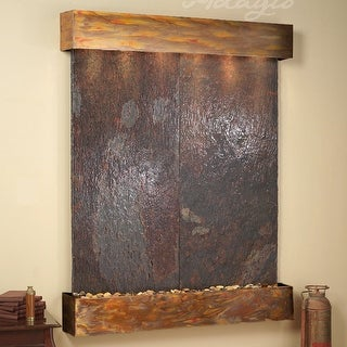 Adagio Majestic River Fountain - Square - Rustic Copper - Choose Options - Multi|Multi
