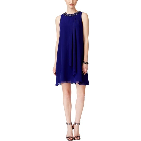 7e77ae5c80 Shop Vince Camuto Womens Cocktail Dress Embellished Sleeveless ...