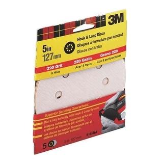 """3M 9145NA X-Fine Dust Free Hook Disc, 5"""", 220 Grit"""