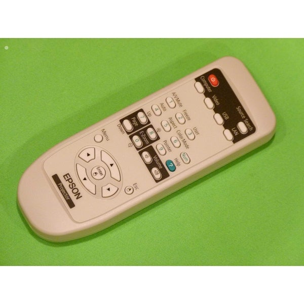 New Epson Projector Remote Control Originally Shipped PowerLite 92, 93, 93+, 95