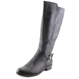 Alfani Jarabina Women Round Toe Synthetic Black Knee High Boot