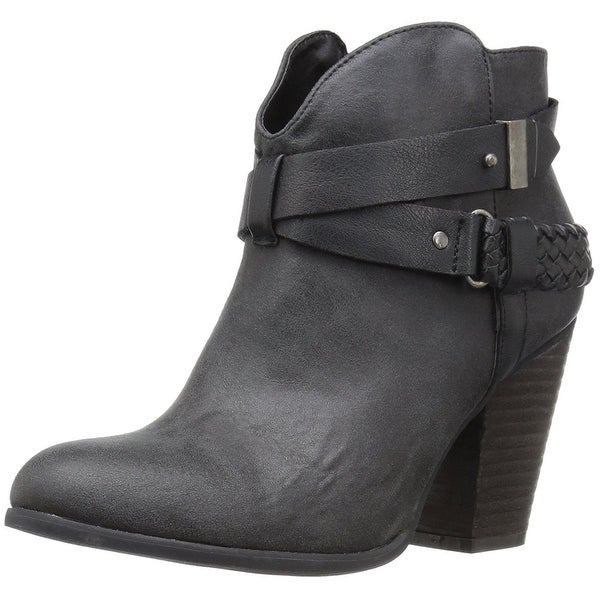 XOXO Womens kasper Round Toe Ankle Fashion Boots