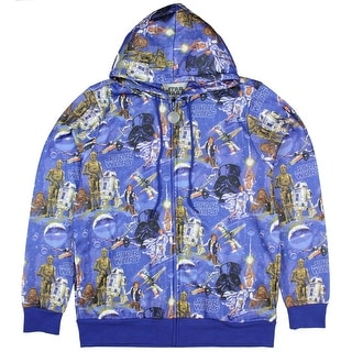 Star Wars Classic Sublimation Print Hoodie