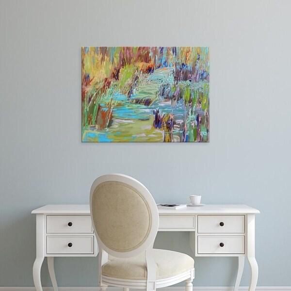 Easy Art Prints Jane Schmidt's 'Winding Through' Premium Canvas Art