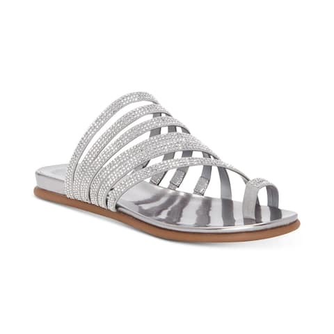 Vince Camuto Womens Edwinny Open Toe Special Occasion Slide Sandals