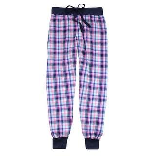 Boxercraft Women's Flannel Jogger Pajama Pants (Option: Red)