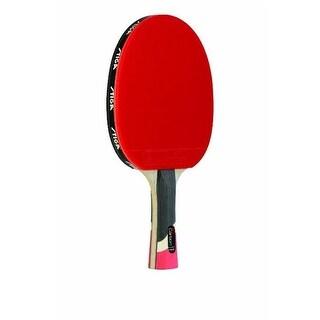 Stiga T1290 Pro Carbon Table Tennis Premium Racket in Red