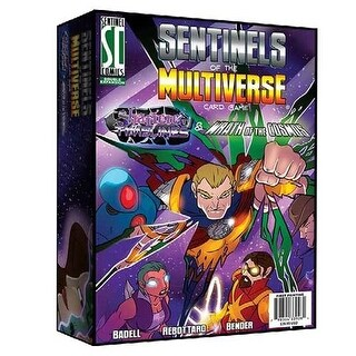 Greater Than Games Sentinel Of The Multiverse: Shattered Timelines & Wrath Of The Cosmos Board Game