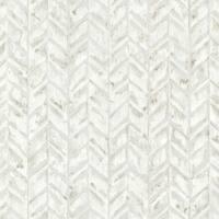 Brewster HZN43063 Foothills Ivory Herringbone Texture Wallpaper - ivory herringbone