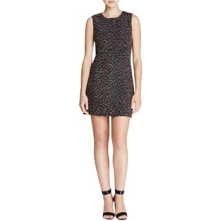 Diane Von Furstenberg Womens Casual Dress Polka Dot Boucle