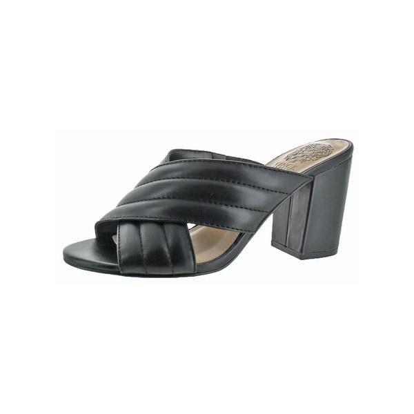Vince Camuto Womens Bemia Slide Sandals Open Toe Criss-Cross