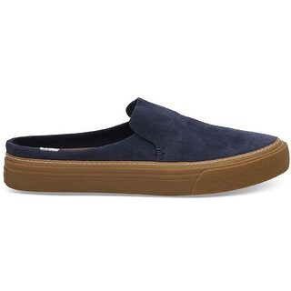 Toms Womens Sunrise Slip On, Navy Suede