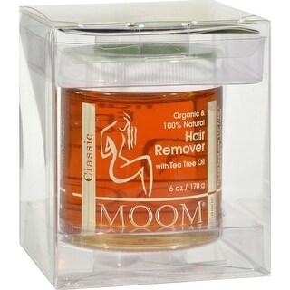 Moom - Organic Hair Remover With Tea Tree Oil ( 2 - 6 OZ)