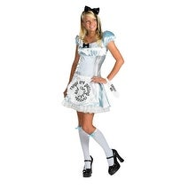Alice in Wonderland Young Adult Child Costume