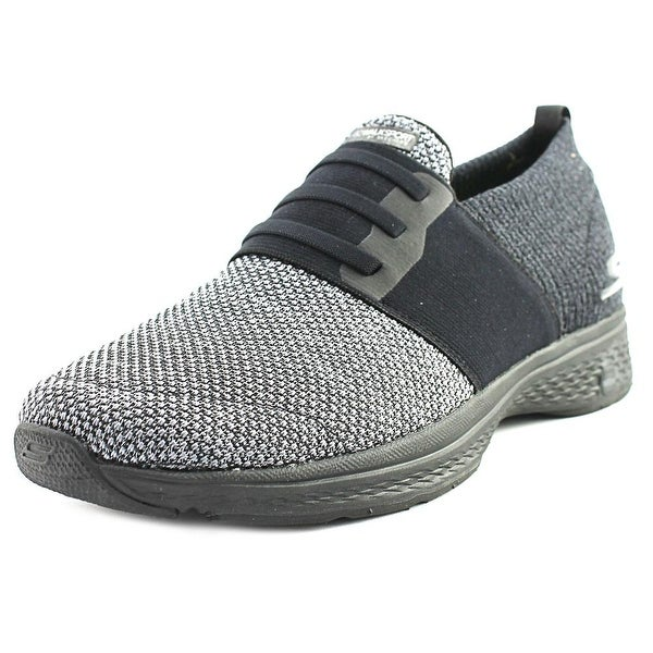 Skechers GoWalk Sport - Grant Men Round Toe Canvas Walking Shoe