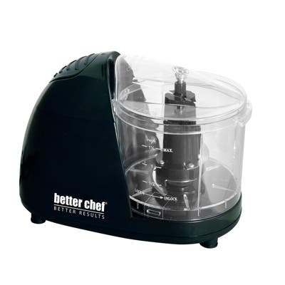 Better Chef 1.5 Cup Compact Chopper Black