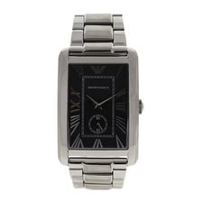 Emporio Armani Ar1608 Stainless Steel Bracelet Watch Watch For Men