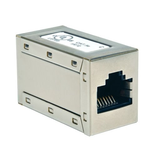 Tripp Lite N032-001 Cat5e Straight Thru Modular Coupler Rj45f/Rj45f