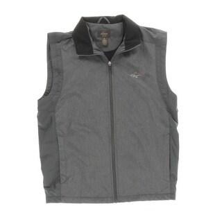 Greg Norman Mens Lightweight Wind Resistant Casual Vest - L
