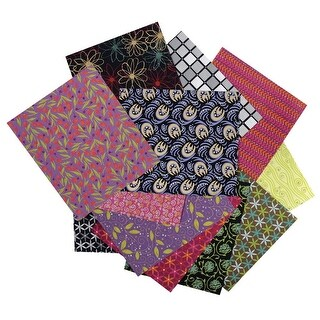 Indian Screen Printed Paper, 11 x 15 In, Pack of 24