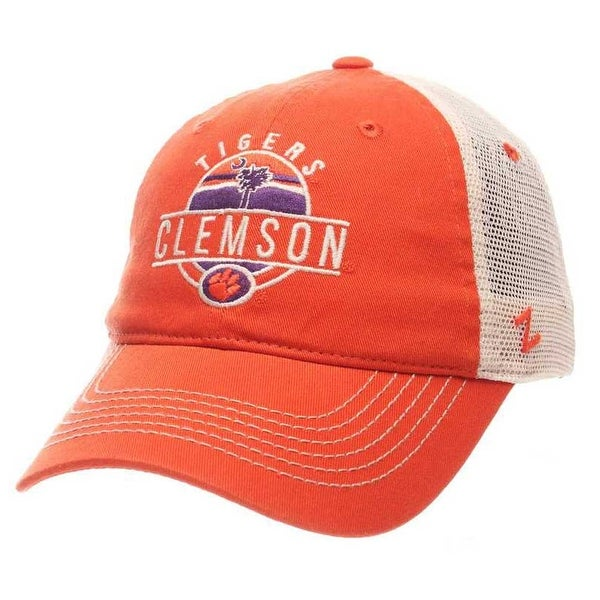 6511ea5a2b9 Shop Zephyr Hats NCAA Clemson Tigers Memorial Tree Logo Trucker Snapback Baseball  Cap - Free Shipping On Orders Over  45 - Overstock - 19402157