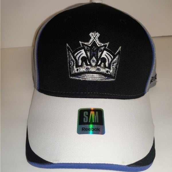 factory authentic d27ce 9a71e Los Angeles Kings Mens Adult Size S M Reebok Stretch Fit Cap Hat