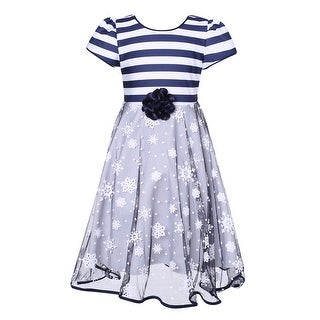 Richie House Girls' Party Dress