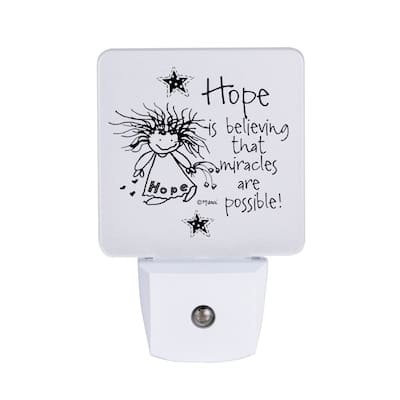 Hope Is Believing Nighlight - Marci Art - 1