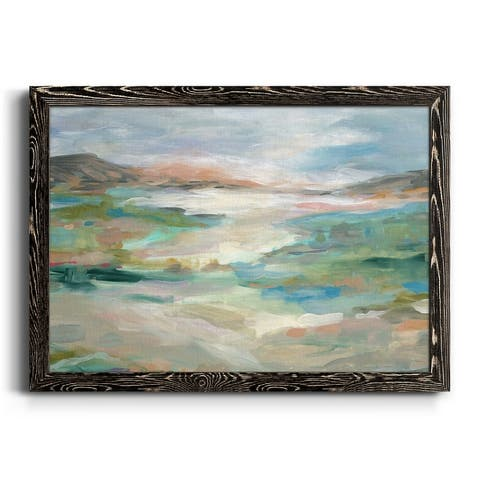 Lush Valleys-Premium Framed Canvas - Ready to Hang