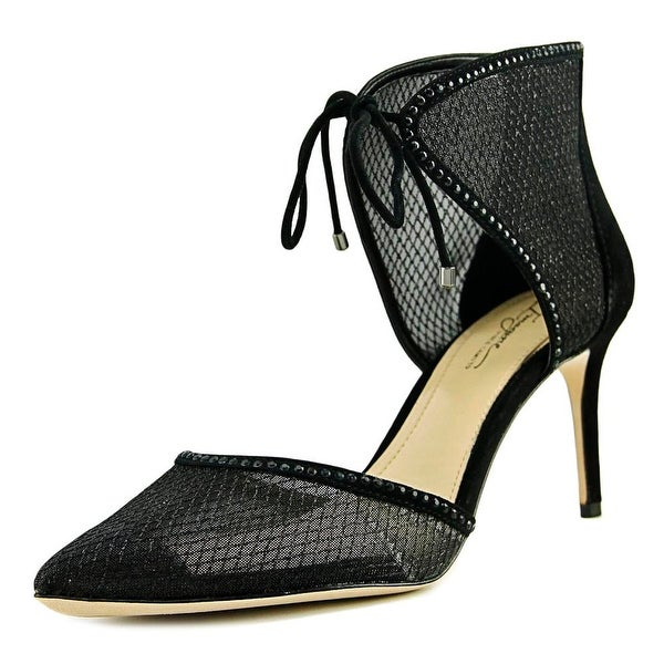 Imagine Vince Camuto Mark Women Pointed Toe Synthetic Black Heels