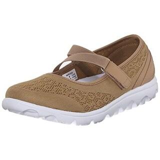 Propet Womens Travelactiv Mesh Mary Jane Walking Shoes - 6 narrow (aa,n)