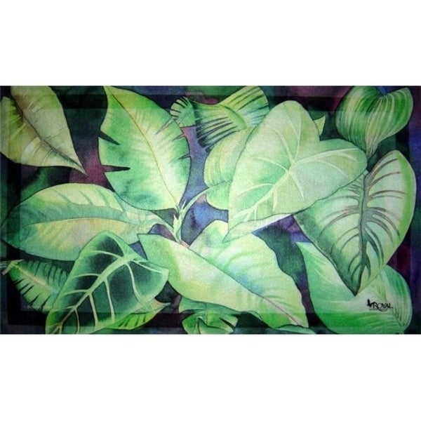 Custom Printed Rugs Dm-26 Leaves Door Mat