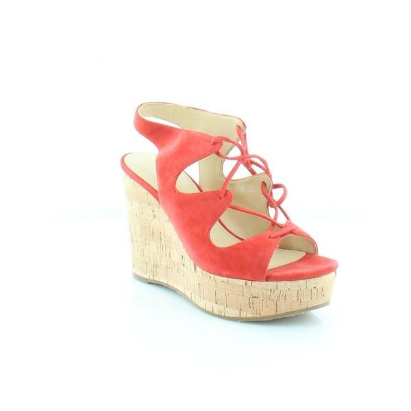 Ivanka Trump Zenia Women's Sandals & Flip Flops Medium red