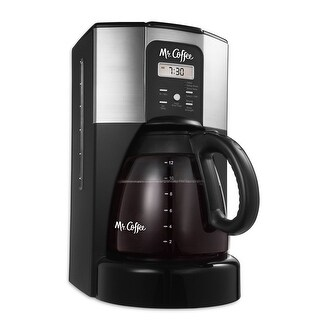 Mr. Coffee BVMC-ECX46-DTS Performance Brew 12-Cup Programmable Coffee Maker - Stainless