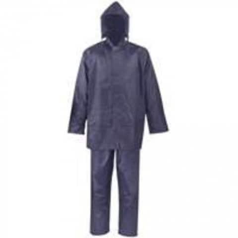 Diamondback SPU045-XXXL Polyester Rainsuit, XXXL, Blue, 2 Piece