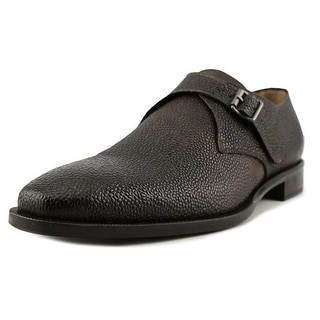 Kenneth Cole NY Link‑Up Men  Round Toe Leather Brown Loafer