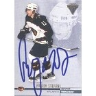 Patrik Stefan Atlanta Thrashers 2002 Pacific Private Stock Titanium Autographed Card This item com